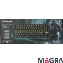DEFENDER Klawiatura gamingowa Stalker GK-170L