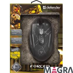 DEFENDER Myszka optyczna Forced GM-020L