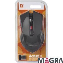 DEFENDER Bezprzewodowa mysz Accura MM-275, red