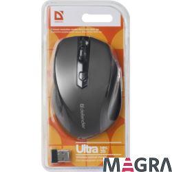 DEFENDER Bezprzewodowa mysz Ultra MM-315, czarna