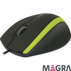 DEFENDER Przewodowa mysz optyczna MM-340 Zielona