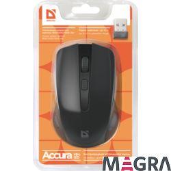 DEFENDER Bezprzewodowa mysz Accura MM-935, black