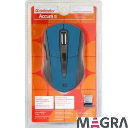 DEFENDER Bezprzewodowa mysz Accura MM-965, blue