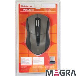 DEFENDER Bezprzewodowa mysz Accura MM-965, brown