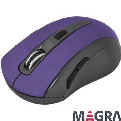 DEFENDER Bezprzewodowa mysz Accura MM-965, purple