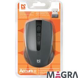 DEFENDER Bezprzewodowa mysz Accura MM-935, grey