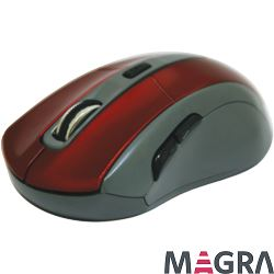 DEFENDER Bezprzewodowa mysz Accura MM-965, red