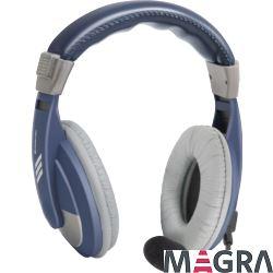 DEFENDER Zestaw słuchawkowy Gryphon 750 niebieski