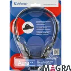 DEFENDER Słuchawki Aura 101