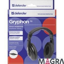 DEFENDER Słuchawki Gryphon 751