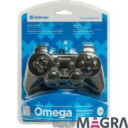 DEFENDER Przewodowy gamepad Omega USB