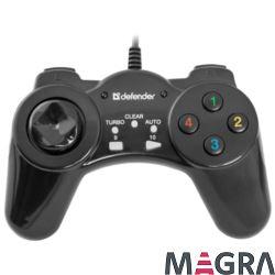 DEFENDER Przewodowy gamepad Vortex USB