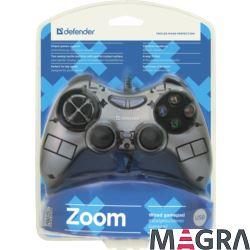 DEFENDER Przewodowy gamepad Zoom USB Xinput