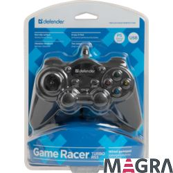 DEFENDER Przewodowy gamepad Game Racer Turbo RS3