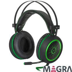 DEFENDER Słuchawki gamingowe DeadFire G-530D grn
