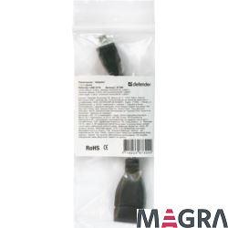 DEFENDER Adapter USB OTG microUSB(M)-USB(F), 8 cm