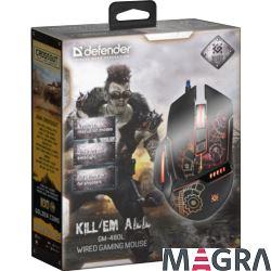 DEFENDER mysz gamingowa GM-480L