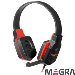 DEFENDER Słuchawki dla graczy Warhead G-320 red